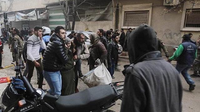 Suriye'nin kuzeyindeki Bab ilçesinde terör saldırısı: 1 sivil öldü, 3 sivil yaralandı