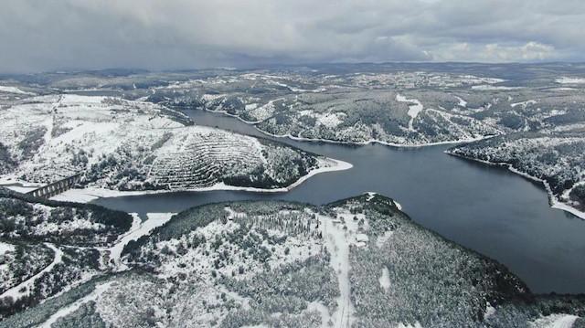 Kar yağışı sonrası İstanbul barajlarında son durum: Doluluk oranı yüzde 48'e dayandı