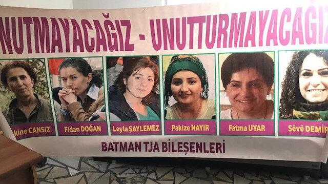Batman ve Aydın HDP binalarından Öcalan posterleri ile PKK paçavraları çıktı