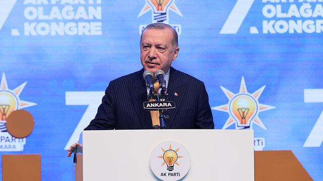Cumhurbaşkanı Erdoğan: Bilgilendirmeleri için bakanlarımızı gönderdim ama Kılıçdaroğlu buna layık değilsin
