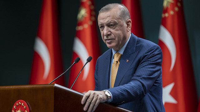 Cumhurbaşkanı Erdoğan'dan Kabine Toplantısı sonrası önemli açıklamalar: Kademeli normalleşme Mart'ta başlıyor