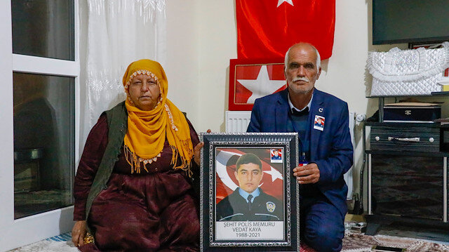 Gara şehidinin babası: Yurt dışından arayan alçaklara kanmıyorum, oğlum kafasından vurulmuştu