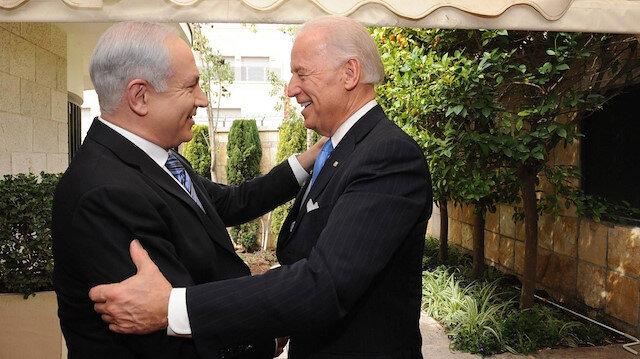 Biden Netanyahu ile göreve geldikten bir ay sonra görüştü