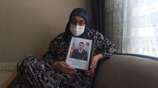 Eskişehirli Gara şehidinin annesi PKK'nın iftirasını yalanladı: PKK öldürdü benim oğlumu