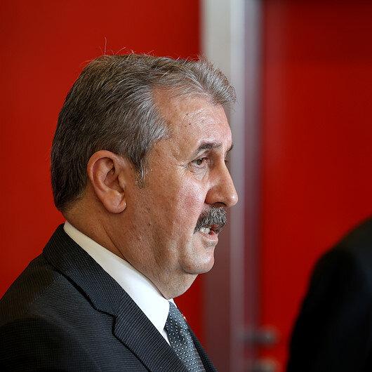 Mustafa Destici: Ha Kandilde Karayılan ha Meclis sıralarında oturan kara çiyan, ha Duran Kalkan ha Pervin Buldan