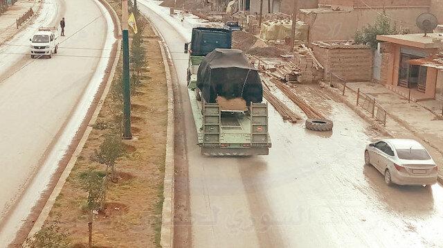 ABD'den PKK'ya 60 tırlık yeni sevkiyat