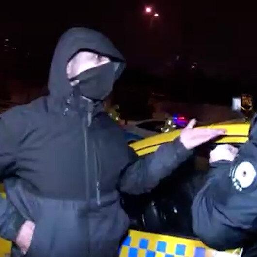 Müşterileri rahatsız eden koku taksiciyi ele verdi: Takside uyuşturucu madde bulundu
