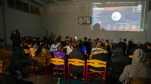 Bosna'da Mars görevi heyecanı: Kratere adını veren 'Jezero' beldesinde canlı takip edildi