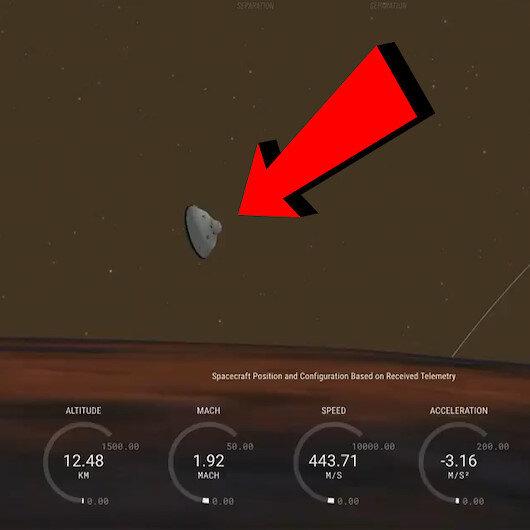 NASAnın uzay aracı Perseverance Marsa iniş yaptı