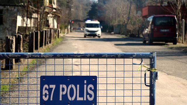 Şehirde panik: Bir mahallede giriş çıkışlar kapatıldı