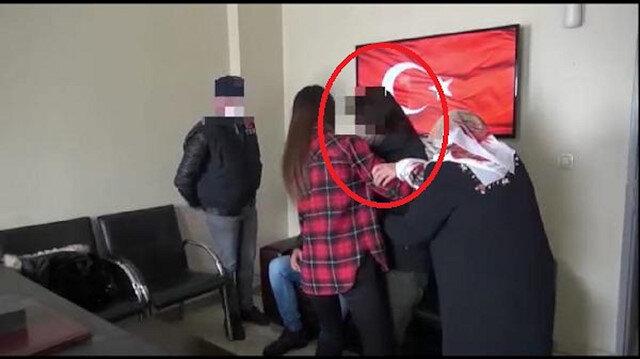 İkna sonucu teslim olan kadın PKK'lı ailesi ile buluşturuldu
