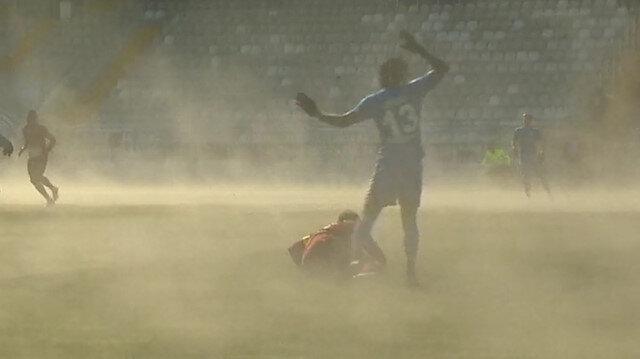 Süper Lig maçında ilginç görüntü