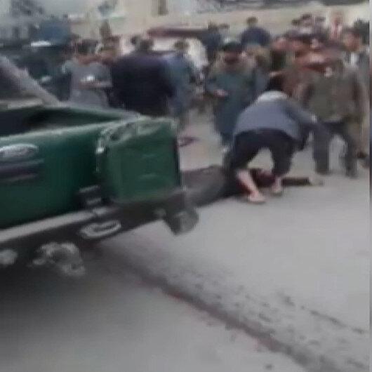 Afganistanda yol kenarına yerleştirilen bomba patladı: 2 ölü, 3 yaralı