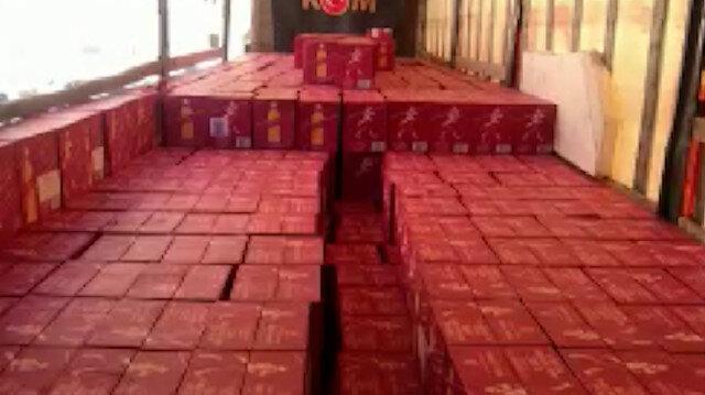 Mardin'de 5 milyon lira değerinde kaçak içki ele geçirildi