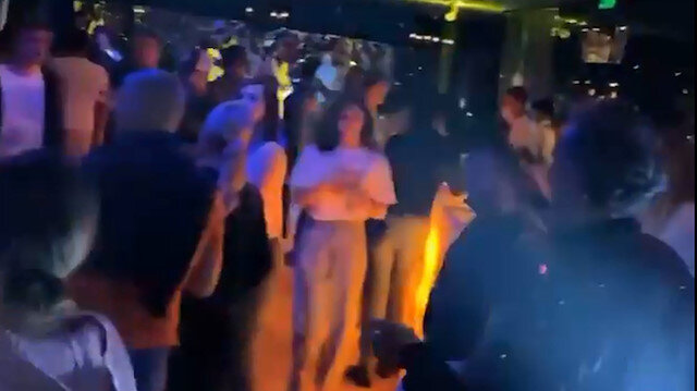 Antalya'da otelde 'korona' partisi