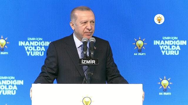 Cumhurbaşkanı Erdoğan: Ey Kılıçdaroğlu şehitlerimizde vebalin var