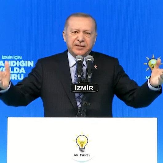 İzmirin en büyük talihsizliği CHPnin başındaki zatın bu şehrin milleti sıfatıyla mecliste yer almasıdır