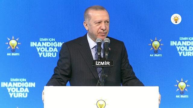 Erdoğan İzmir'e böyle seslendi: En büyük şanssızlığınız vekilinizin Kılıçdaroğlu olması