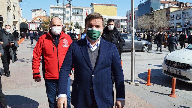 Aksaray Valisi Aydoğdu uyardı: Turuncu listede olmaya devam edersek normalleşemeyiz
