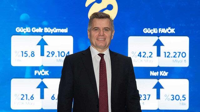 Turkcell'den 2020 yılında 4,2 milyar TL'lik net kar