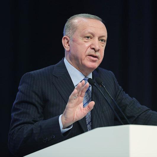 Cumhurbaşkanı Erdoğan: Mazlumların botlarının kasten batırıldığını gayet iyi hatırlıyoruz