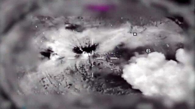 MSB, operasyona hazırlık görüntülerini paylaştı:  Hedefler tam isabetle vuruldu