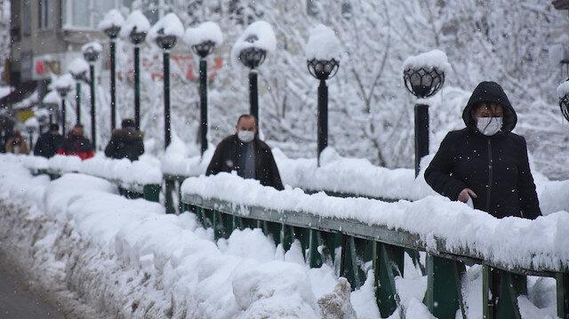 Meteoroloji'den 'çığ buzlanma ve don' uyarısı