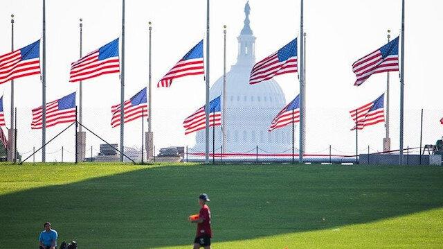 ABD'de bayraklar beş gün boyunca yarıya indirilecek