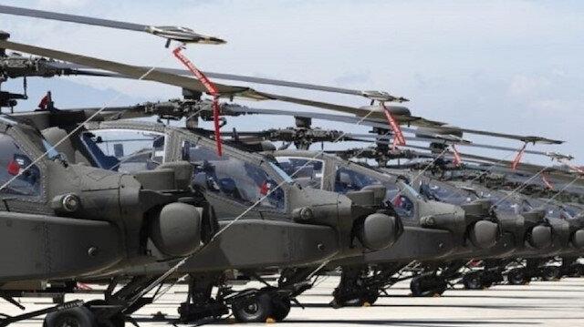 Yunanistan ve ABD'den ortak tatbikat: 145 helikopter bölgeye getiriliyor