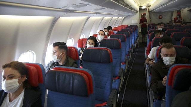 Uçakta hava yolu ile koronavirüs bulaşır mı?
