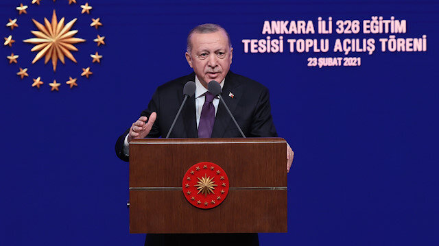 Cumhurbaşkanı Erdoğan: 20 bin öğretmen atanacak