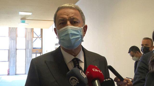 Hulusi Akar: Yunanistan'ın tacizine gerekli karşılık verildi