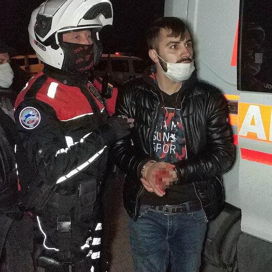Samsunda 5 lira vermeyen güvenlik görevlisini bıçaklayarak hastanelik etti, yakalanınca benden şikayetçi olma dedi