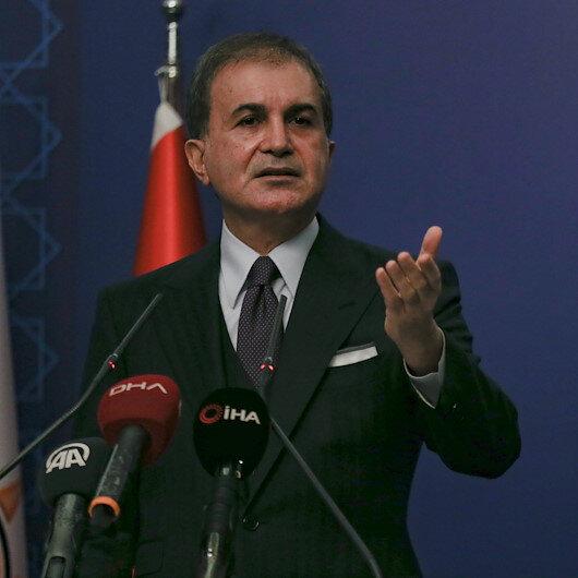 AK Parti Sözcüsü Çelikten CHPye tepki: Gayriahlaki bir iş yapıyorsunuz