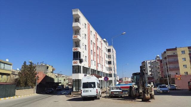 Mardin'deki bu binayı görenler gözlerine inanamıyor