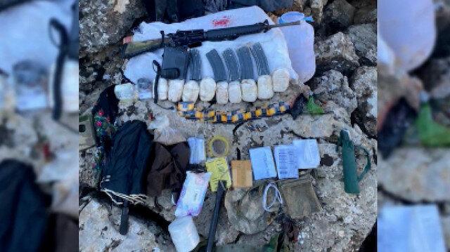 'Eren-5 Bagok' operasyonunda 3 YPG'li yakalandı, 10 depo imha edildi