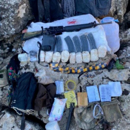 Eren-5 Bagok operasyonunda 3 YPGli yakalandı, 10 depo imha edildi