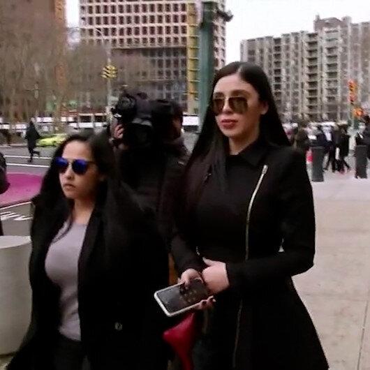El Chaponun eşi ABDde tutuklandı