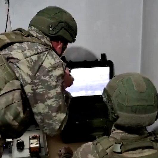 Sızma girişiminde bulunan 4 PKKlı terörist böyle etkisiz hale getirildi