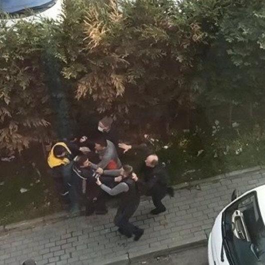 Bursada iki grup arasında çıkan park kavgasında tekme ve yumruklar havada uçuştu