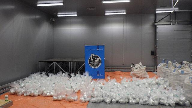 Avrupa'nın en büyük deniz aşırı uyuşturucu operasyonu: Piyasa değeri 3 milyar euro'dan fazla