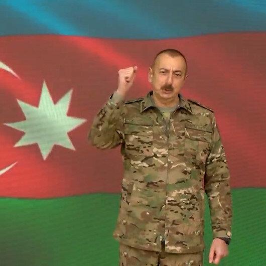Azerbaycan, Dağlık Karabağ savaşına ilişkin yeni görüntüleri paylaştı