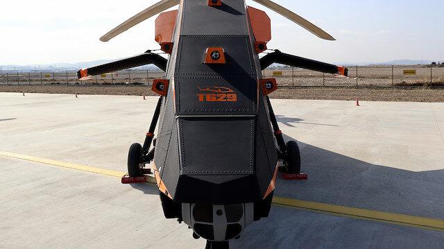 'T629' insansız ve elektrikli taarruz helikopteri: İlk kez görüntülendi