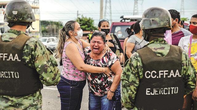 Ekvador'da cezaevi isyanları: 75 mahkum öldü