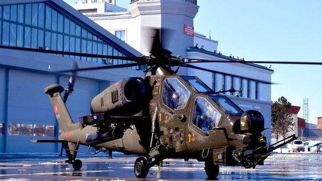 Ankara Emniyeti ilk ATAK helikopterini teslim aldı