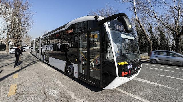 Yerli elektrikli metrobüs Ankara'da: Tek şarj ile 250 kilometre yol alıyor