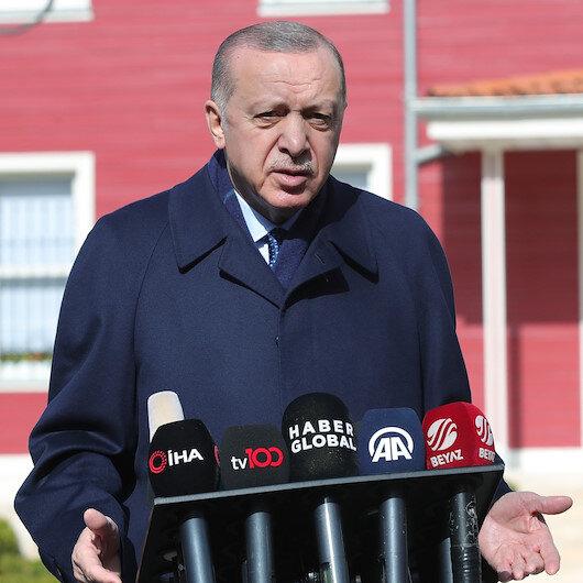 Cumhurbaşkanı Erdoğandan Kanal İstanbul açıklaması: Ne bundan ana muhalefet anlar, ne de İBB anlar
