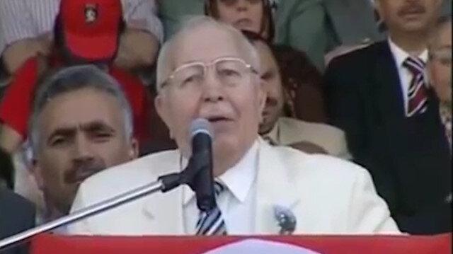 Merhum Necmettin Erbakan'ın Ayasofya konuşması tekrar gündemde: Ölümünün 10'uncu yılında Ayasofya'da anılacak