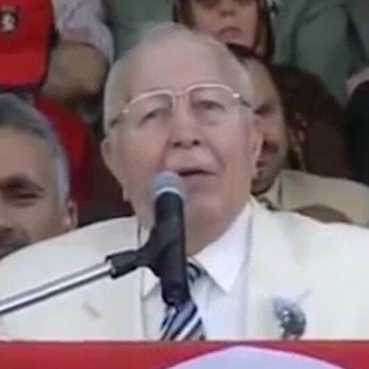 Merhum Necmettin Erbakanın Ayasofya konuşması tekrar gündemde: Ölümünün 10uncu yılında Ayasofyada anılacak