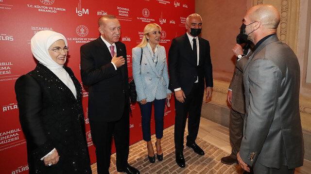 Cumhurbaşkanı Erdoğan açılışını yaptı, ünlüler akın etti: Jason Statham sürprizi